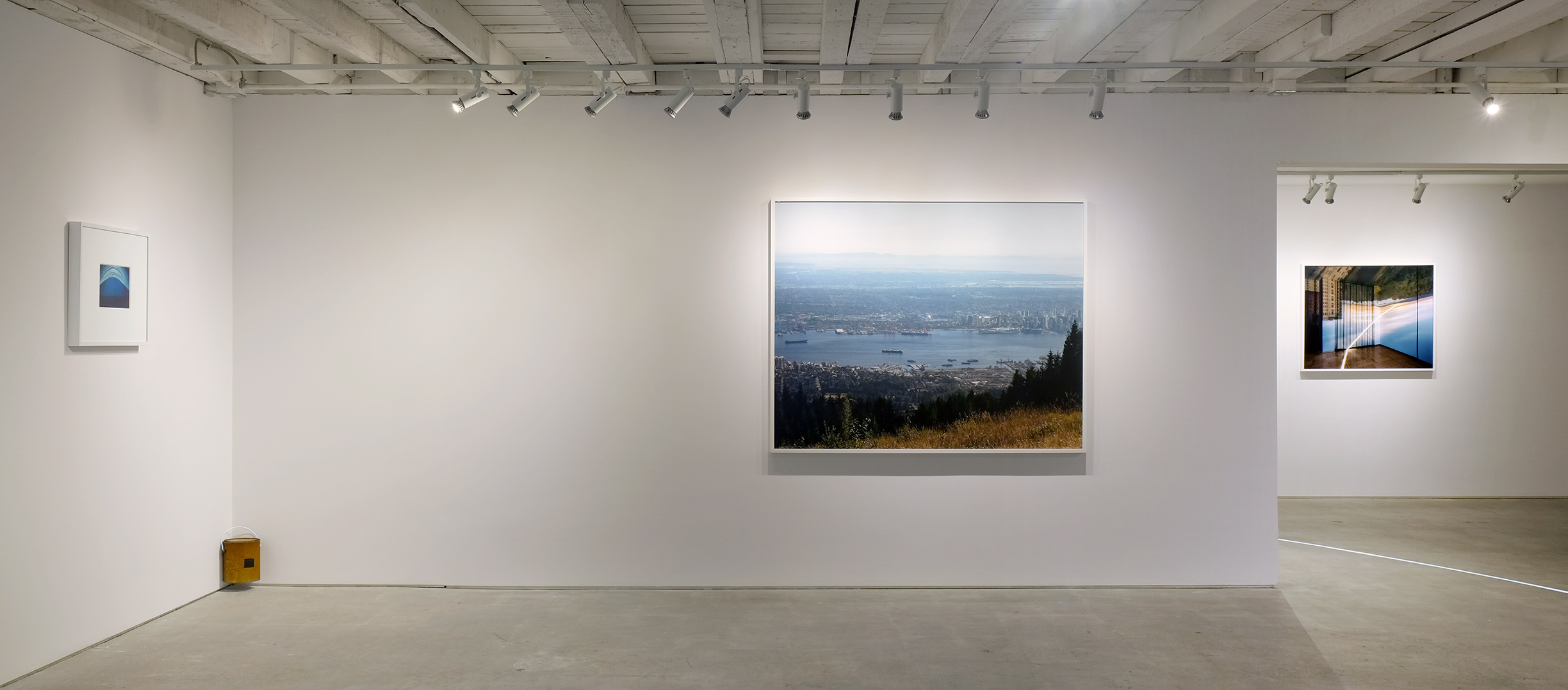 Ascensions of Time Exhibition View Burrard Arts Foundation, Vancouver / 2016
