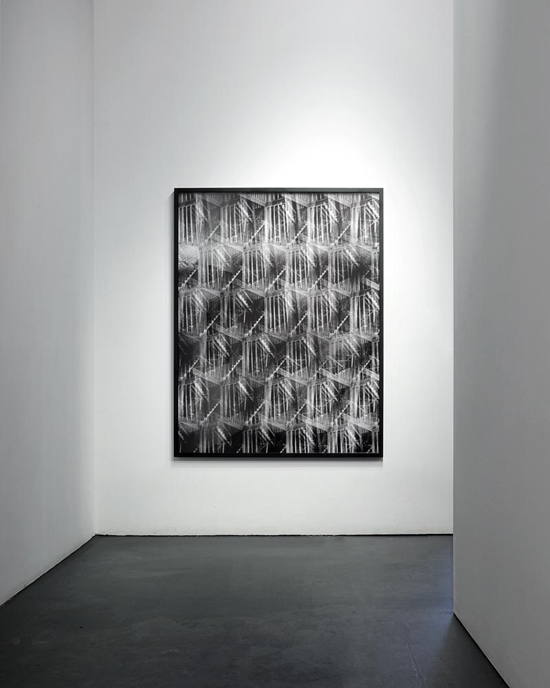 Building Views (Pinhole Lattice), 2013 Archival Pigment Print 60 x 48 inches