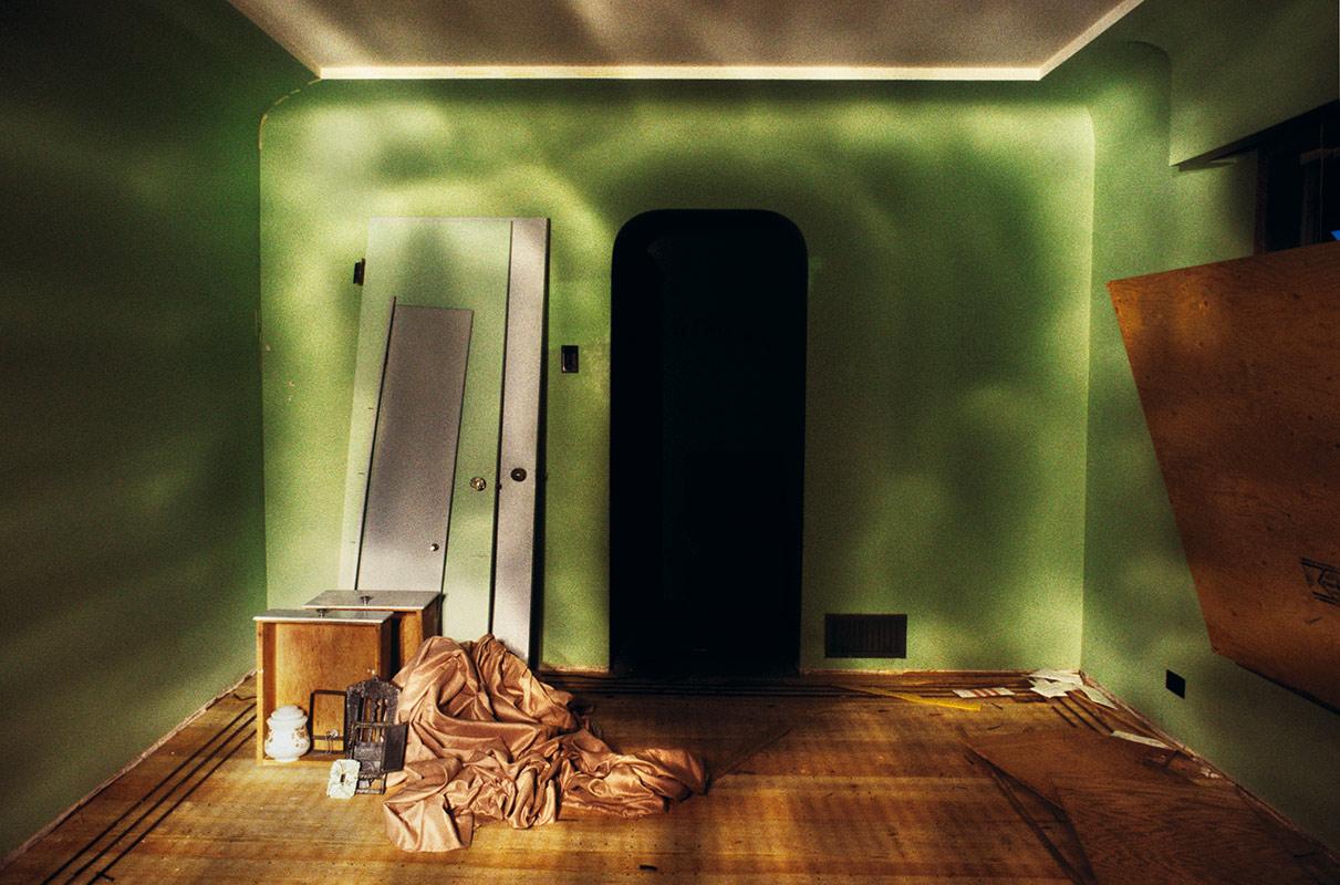 Dwellings , 2004 Metallic Print 24 x 36 inches