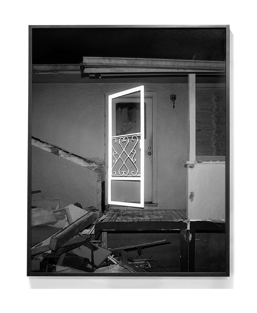 Screen Door (Illuminations Series), 2015 Archival Pigment Print 40 x 32 inches